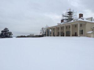 mansion snow